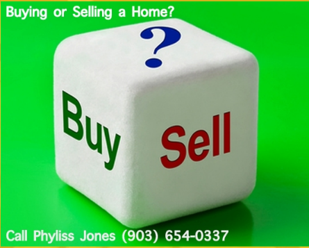Call me Phyliss Jones for assistance in Buying a Home or Selling your Home.