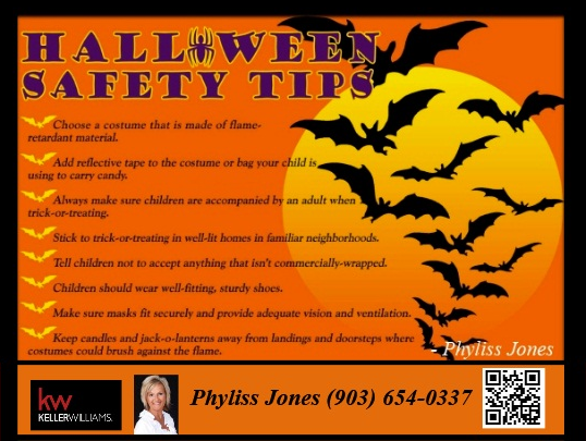 Be Safe this coming Halloween Everyone!:)