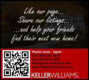 Help your Friends Find their new home in Corsicana,TX