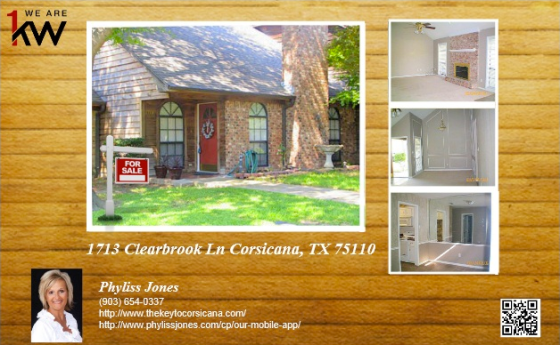 Own This Beautiful Home in Corsicana, TX