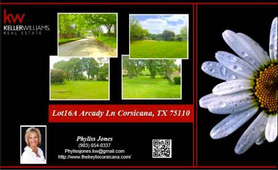 Beautiful Residential Neighborhood in Corsicana, TX