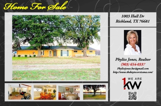 Beautiful Country Style 4 bedroom, 2 bath Home