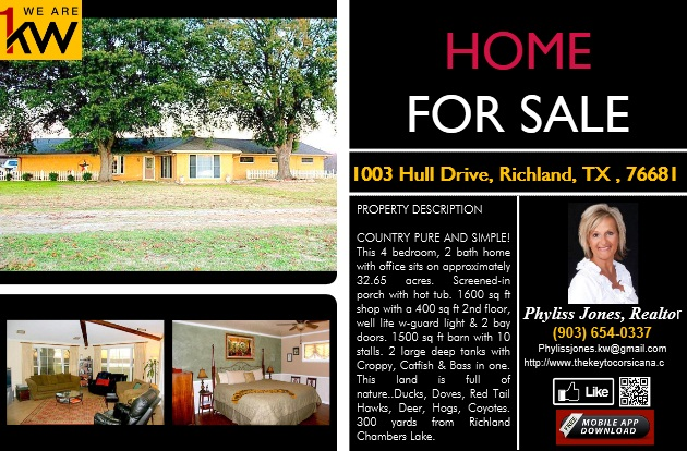 Beautiful Home located at 1003 Hull Drive in Richland, TX