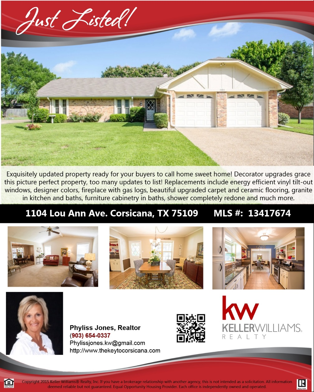 Home Sweet Home New Listing!
