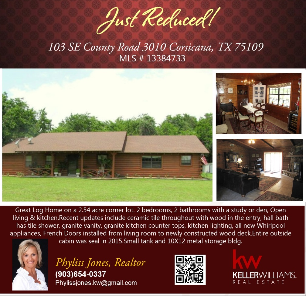 PRICE REDUCED! Beautiful Home!