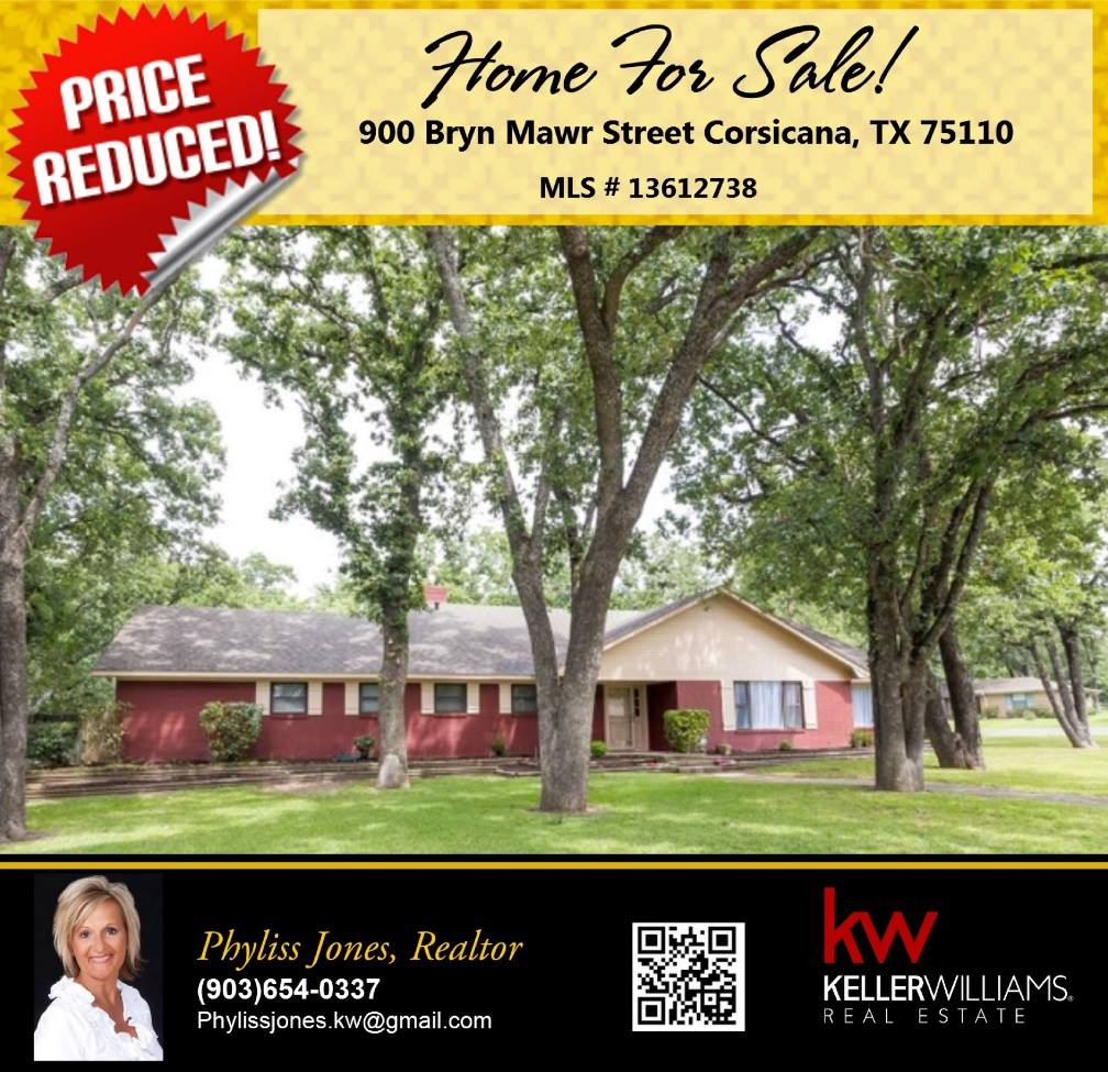 Don't miss the chance to Own this Beautiful Home! Please call me for more info. Phyliss Jones, Realtor (903)654-0337.