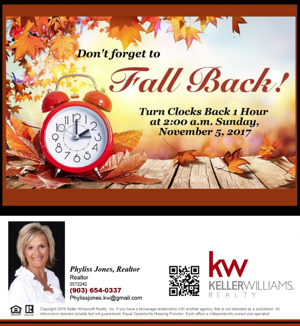 Don't forget to FallBack!